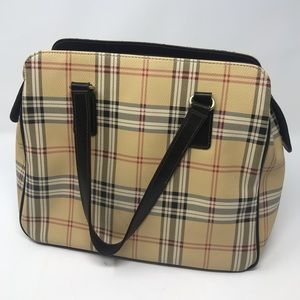 Giani Bernini Plaid Purse Gently Used like New